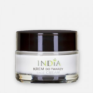 Krem do twarzy 50ml India OLEJ KONOPNY