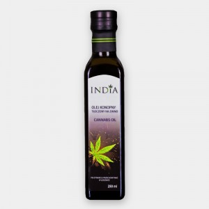 Olej konopny 250ml India CANNABIS OIL